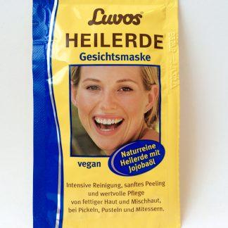 Gesichtsmaske Heilerde Luvos