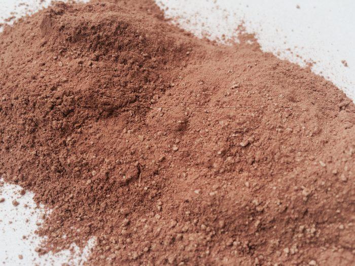 Lehm Ton rot gemahlen2