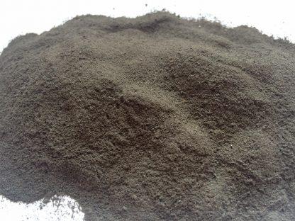 Lehm Ton schwarz gemahlen1