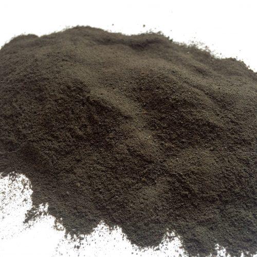 Lehm Ton schwarz gemahlen9