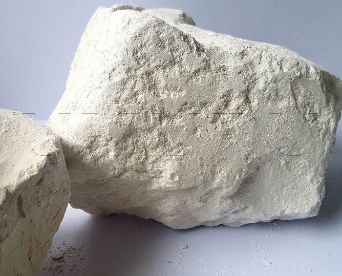 Lehm Ton Heilerde Monolith mit Kreide