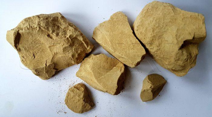 Lehm Ton Kirgisistan gelb (3)